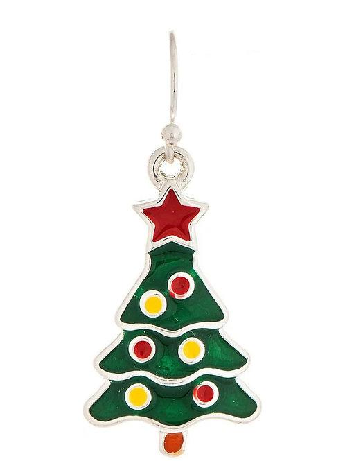RAIN JEWELRY LITTLE CHRISTMAS TREE EARRINGS #466