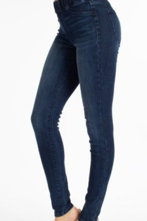 KANCAN HIGH RISE ELASTIC BAND JEGGINGS #326