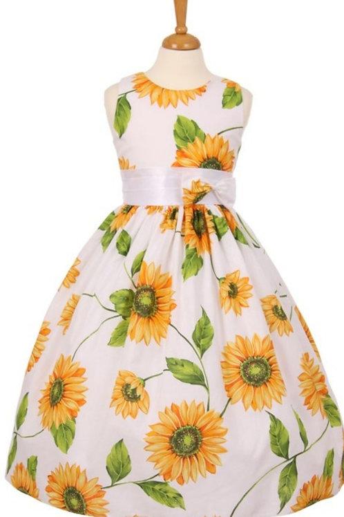 INFANT & CHILDREN'S SIZES SUNFLOWER DRESS #631