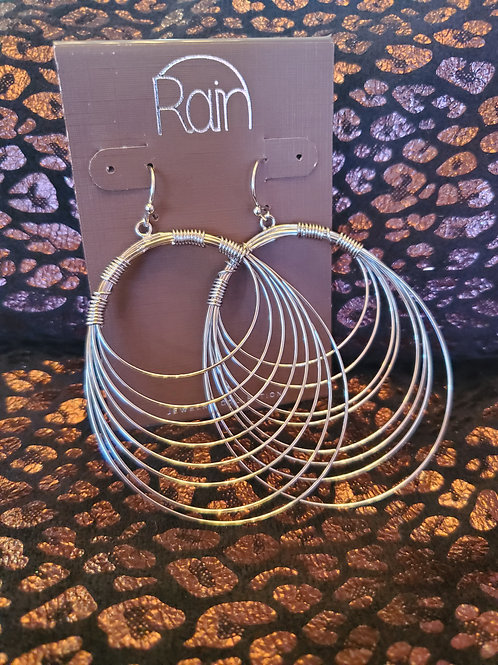 RAIN JEWELRY SILVER WIRE CASCADE EARRINGS #352