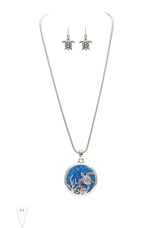 RAIN JEWELRY COLLECTION NECKLACE TURTLE