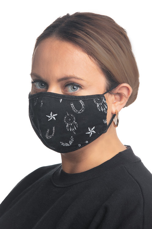 MISS ME BRAND FACE MASKS WITH POCKET FOR DISPOSABLE FILTERS  #061