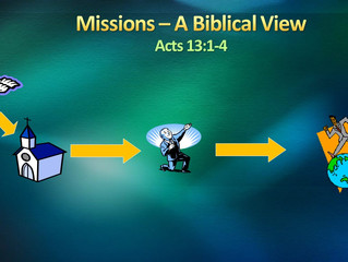 "What is a ""Missions-minded Church?"", pt. 1"