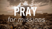 """What is a """"Missions-minded Church?"""" pt. 5"""