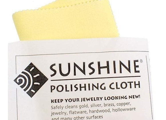 "Sunshine Polishing Cloth 2.5"" x 2.5"""