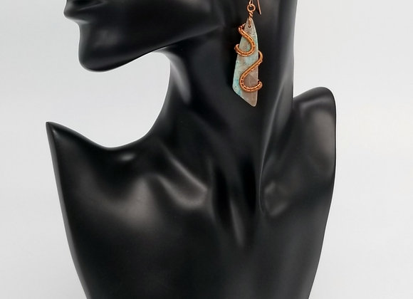 Captured Air Earrings