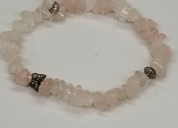 Pretty In Light Pink Heart Chakra Bracelet