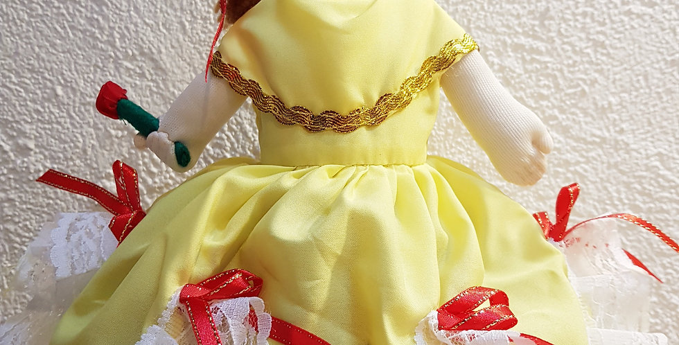 K&Me's Beauty and the Beast Flip-Me Geschichten-puppe