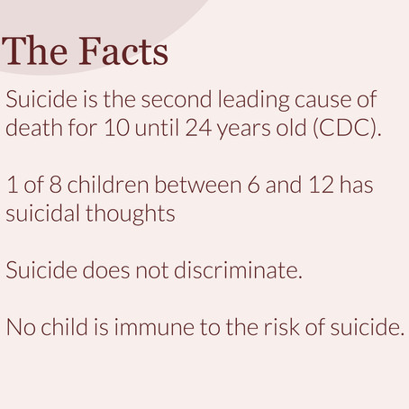 Suicide Prevention Month: Suicide in Kids and Teens