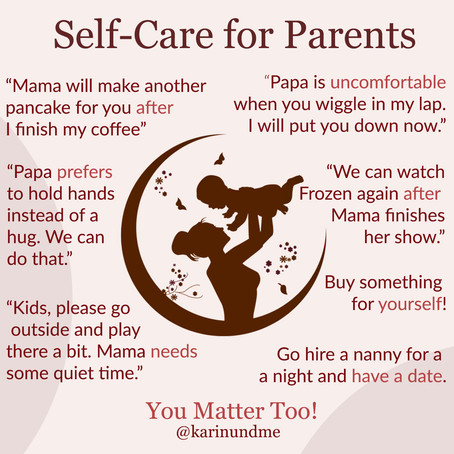 Self-care for parents
