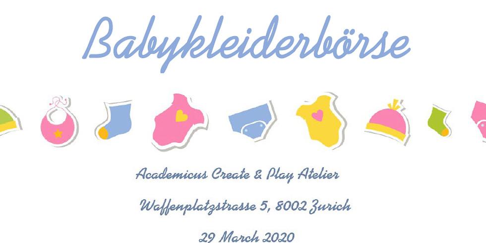 EVENT POSTPONED - Babykleiderbörse