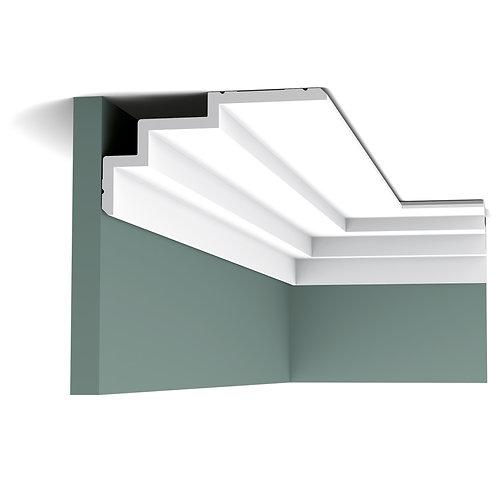 cornisa C392 ,cornisa in trepte 19 cm H,cornisa stil modern poliuretan cluj, cornisa orac decor cluj