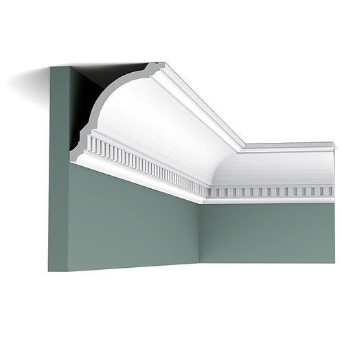cx107-cornisa duropolimer stil clasic cluj, cornisa 12 cm cu denticuli cluj, cornisa 12 cm orac decor cluj, cornisa tavan