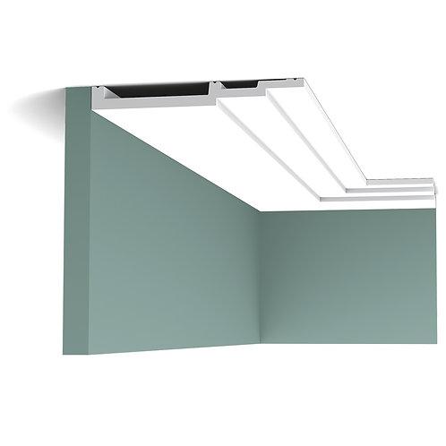 SX181-profil tavan in trepte de 20 cm inaltime, cornisa tavan in trepte 2.2 cm , profile moderne orac décor cluj , décor tava