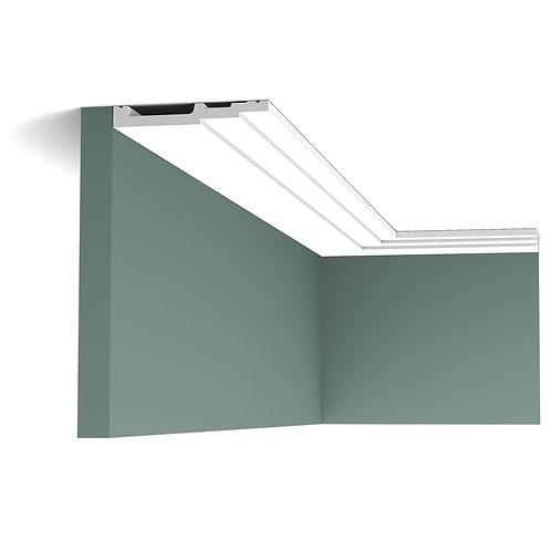 SX180-profil tavan in trepte de 12 cm inltime, cornisa tavan in trepte 12 cm , profile moderne orac décor cluj , décor tavan