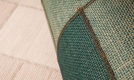 tapet insero cluj, tapet din iuta cluj, tapet verde cu verde inchis cluj, tapet de lux cluj , design interior de lux cluj .jpg