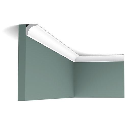 cornisa tavan de 2 cm ,cornisa subtire duropolimer, cornisa tavan stil modern, cornisa orac decor cluj,cornisa alba
