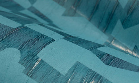tapet vanguard cluj,tapet turqoise ,tapet cu desen geometric ,tapet in stil modern albastru,tapet cluj,design de lux cluj, magazin tapet cluj.jpg