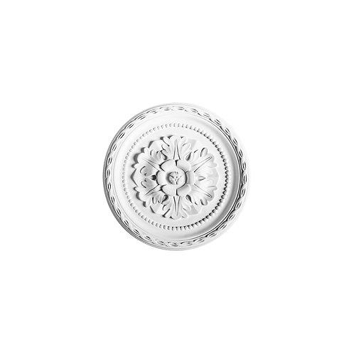 rozeta poliuretan cu flori diametru 28 cm,rozeta decor tavan cluj,rozete orac decor cluj,rozeta r13,