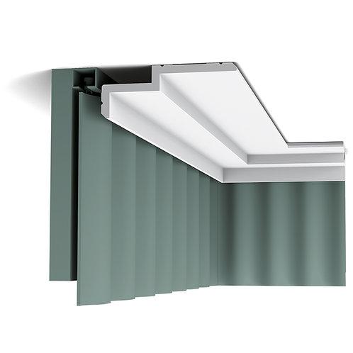cornisa masca perdele 6 cm H,profil tavan c391, cornisa in trepte,cornisa orac decor cluj,decor tavan modern,