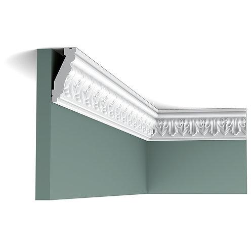 C214-cornisa cu frunze de acant,cornisa cu model floral cluj,cornisa tavan stil clasic cluj, cornisa orac decor cluj,