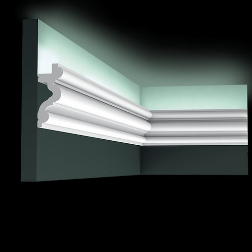 Scafa lumina indirecta C324, scafa stil clasic led,scafa orac decor, scafa poliuretan,scafa lumina indirecta