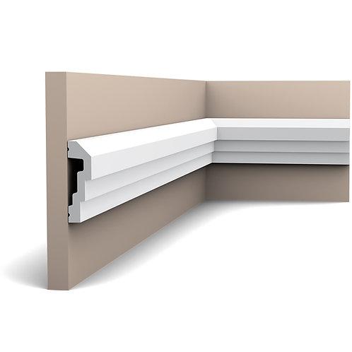 profil decorativ stil modern in trepte, P7070, brau decorativ 7.5 cm H,profile stil modern orac decor cluj,design perete