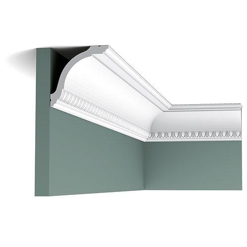 cx128 cornisa 9.4 cm H, cu desen decorativ in stil clasic,cornisa tavan duropolimer cluj,decor tavan cluj ,orac decor cluj