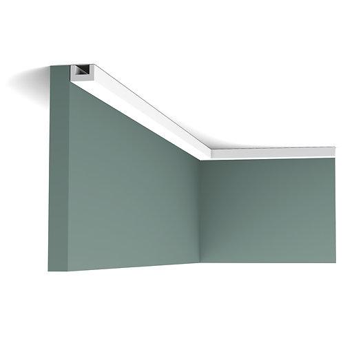 Profil tavan duropolimer dreptunghiular 3 cm inaltime Orac Decor Cluj,Profil tavan de ascuns cabluri Cluj