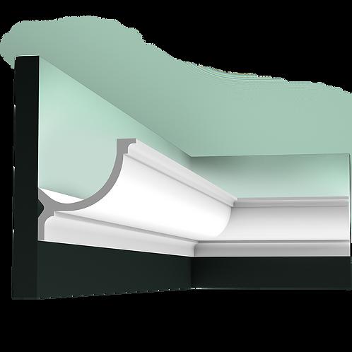 scafa lumina indirecta c902, scafa convexa poliuretan 10 cm H cluj,scafa orac decor cluj, lumina indirecta,lumina ambientala