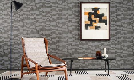 tapet vanguard cluj,tapet gri cu lac,tapet cu desen geometric ,tapet in stil modern cluj ,accent decor cluj.jpg
