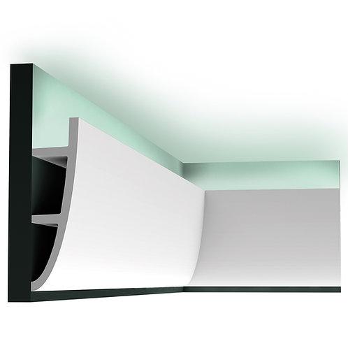 scafa lumina indirecta suport leduri cluj,scafa c374 orac decor,scafa poliuretan cluj, scafa 18 cm H,scafa design modern cluj