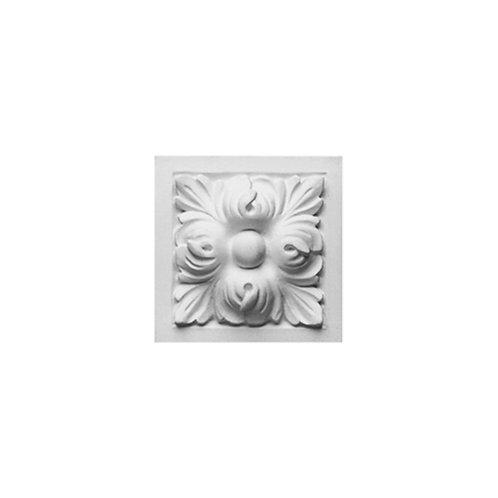 Ornament in stil clasic cu floare in mijloc, patrat. Fiind de dimensiuni mici , el se poate folosi la ancadramente , inserat