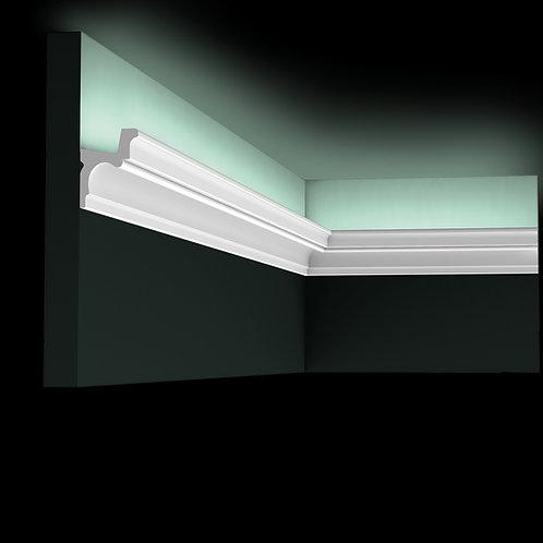 scafa lumina indirecta C323,scafa led 5,5 cm H , scafa poliuretan , scafa orac decor c323,scafa stil clasic led,