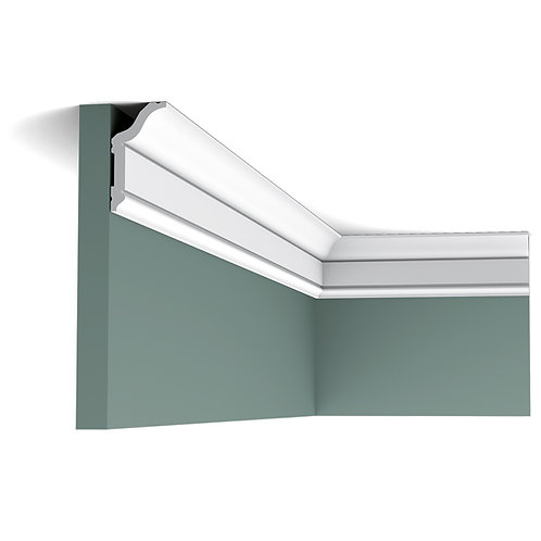 Cx141-cornisa duropolimer 6 cm H, orac decor cluj, cornisa cu baza dreapta,cornisa decor tavan,cornisa cluj, decor tavan,