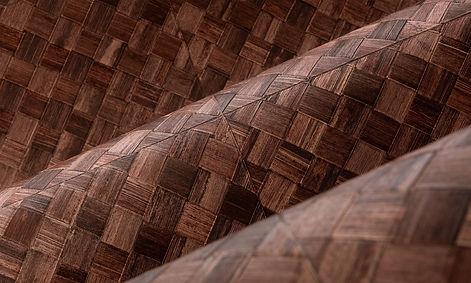 tapet selva cluj, tapet vinilic cluj, tapet care se poate spala cluj, tapet maro  cluj, tapet cu  model impletit, tapet design rustic.jpg