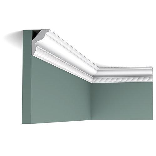 cornisa tavan stil clasic cu impletitura, cornisa 4 cm H,profile orac decor cluj,decor tavan cluj