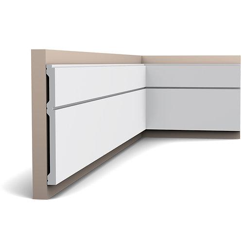 bagheta perete 20 cm H, P5050 profil perete stil modern cluj,profile decorative stil modern cluj,decor perete stil modern,