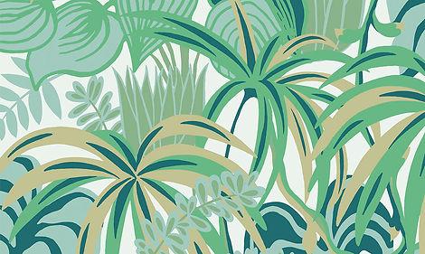 tapet jungle jive cluj, tapet cu palmieri, tapet alb cu verde cluj, tapet tablou cluj, tapet cu vegetatie cluj,magazin tapet cluj, design cu tapet cluj,tapet stil modern.jpg