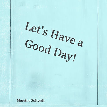 Let's hava a good day - cover