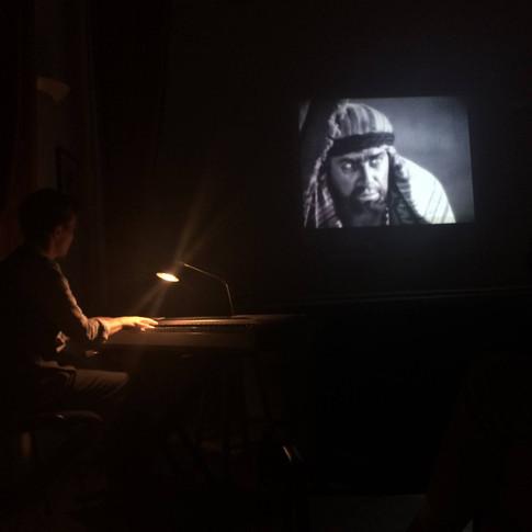 Performance of 'Son of the Sheik', Giffordtown 2018
