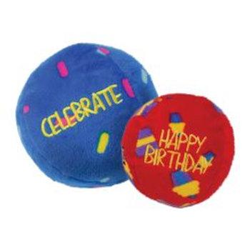 KONG Birthday Balls 2pk