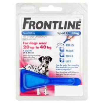 FRONTLINE Spot On Dog Large - 1 pipette, 1's