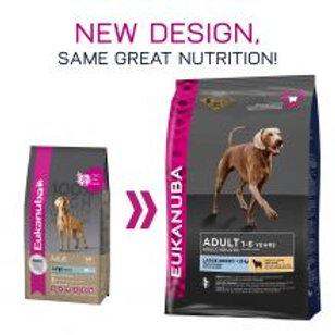 Eukanuba Dog Adult Lamb & Rice Large Breed, 12kg