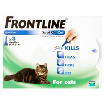 FRONTLINE Spot On Cat - 3 pipettes, 3's