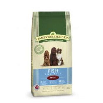 James Wellbeloved Dog Adult Fish & Rice, 2kg