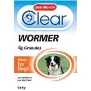 Bob Martin Clear Wormer Granules -Dog