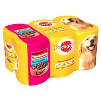 Pedigree Can in Loaf 6 Pack, 400g
