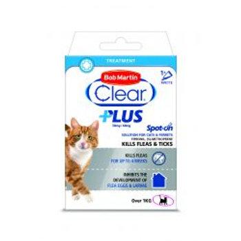 Bob Martin Clear Plus Spot On Cat 1trmnt