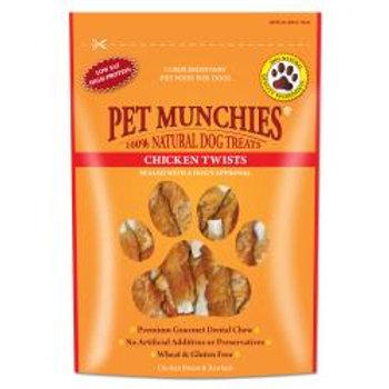 Pet Munchies Chicken Twists, 80g